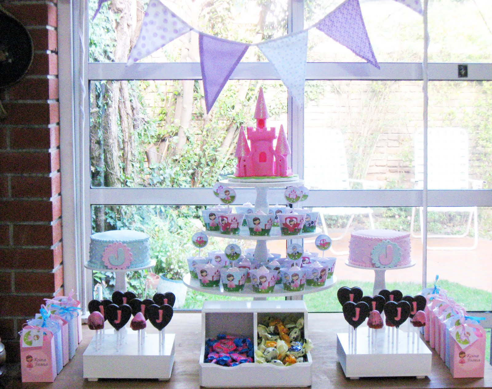 Princess party partyideasbynancy for Princess dekoration